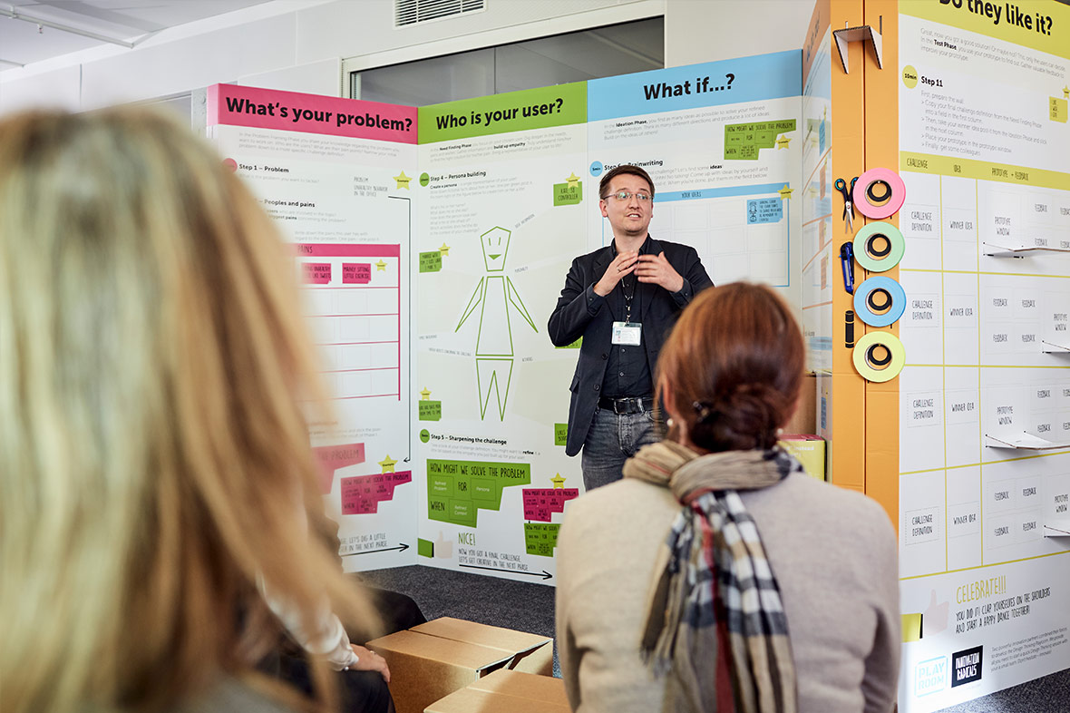 playroom workshops: Design Thinking Trainings and Workshops